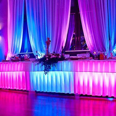 Podświetlenie stołu